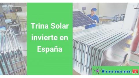 Trina Solar invierte en España
