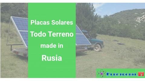 Placas Solares Todo Terreno en Rusia